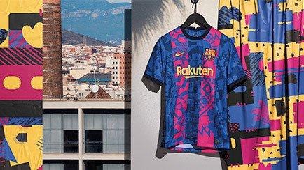 Barcelona tredjetröja 2021/22 | Kolla in den på...