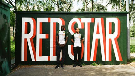 Nouveaux maillots Red Star FC   Kappa prend le ...