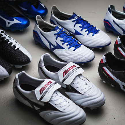 Unisport heißt die Mizuno Fußballschuhe willkommen