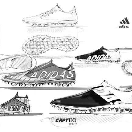 Tankerne bag adidas' revolution: Fodboldstøvler...