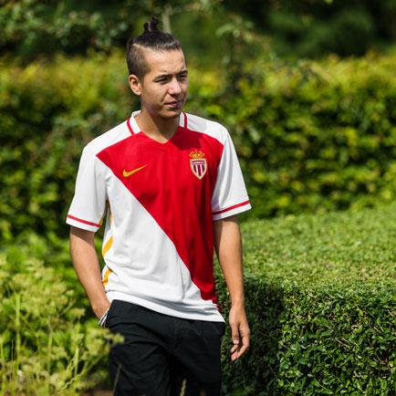 Nike opdaterer AS Monaco hjemmebanetrøje med gu...