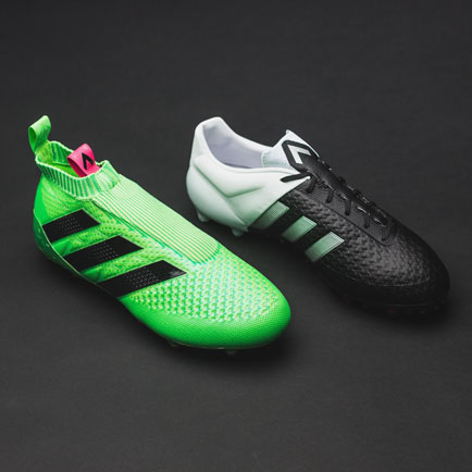 Sammenligning mellem adidas Ace15+ og Ace 16+ P...
