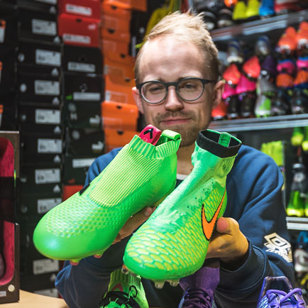Tech talk med JayMike - Kan alle fodboldstøvler...