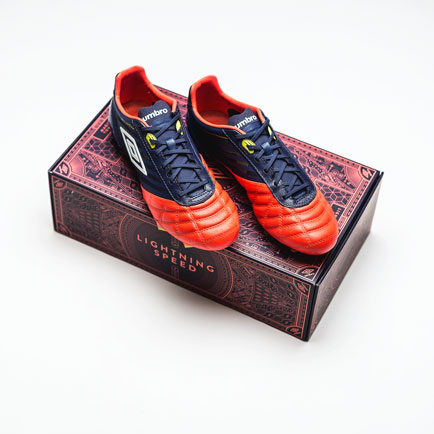 Umbro unveil their newest football boot silo - ...