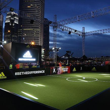 adidas #BeTheDifference rammer Hong Kong - næst...