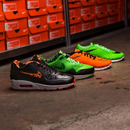 Nike sneakers: Free Hypervenom og Air Max til b...