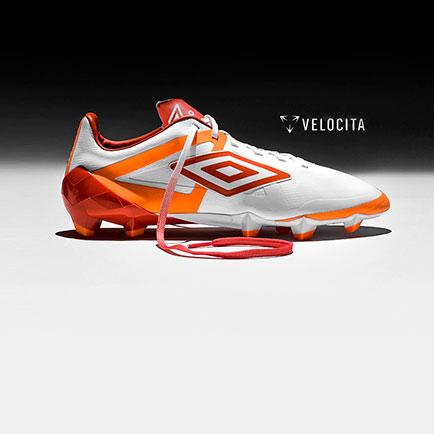 Umbro Velocita Pro Hvid/Orange - en af markedet...