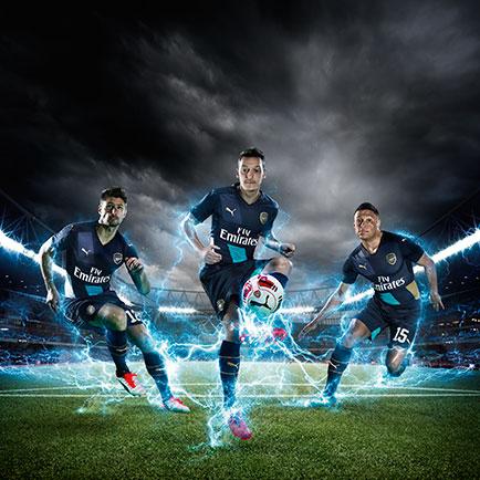 PUMA og Arsenal på guldjagt i 2015/16 sæsonen