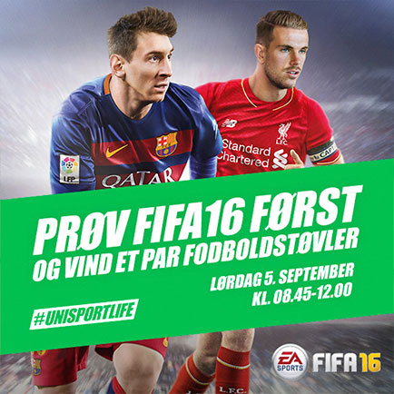 Prøv FIFA16 før alle andre og vind et par fodbo...