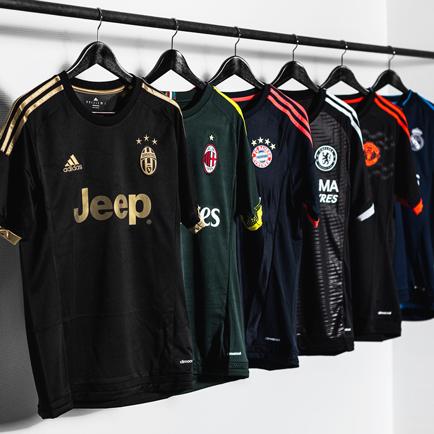 adidas præsenterer fem nye 3. trøjer til deres ...