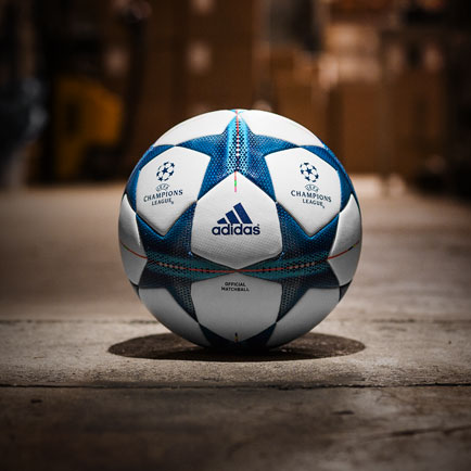 Adidas præsenterer den nye officielle Champions...