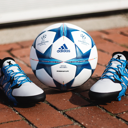 adidas X15 & Champions League bollen - den perf...