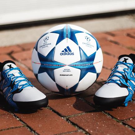 De adidas X15 & Champions League bal - Een heme...