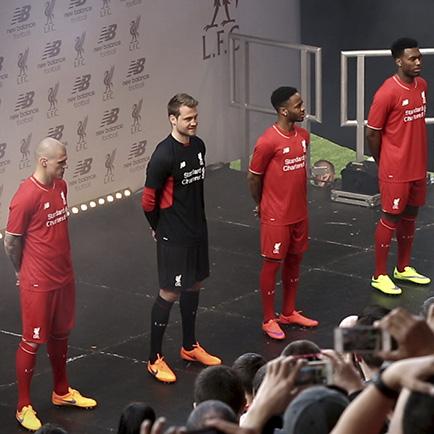 Unisport WebTV: Lancering af Liverpools nye trø...