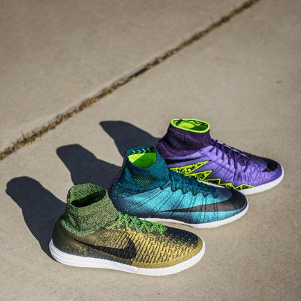 Vi tjekker de nye Nike FootballX Electro Flare ...