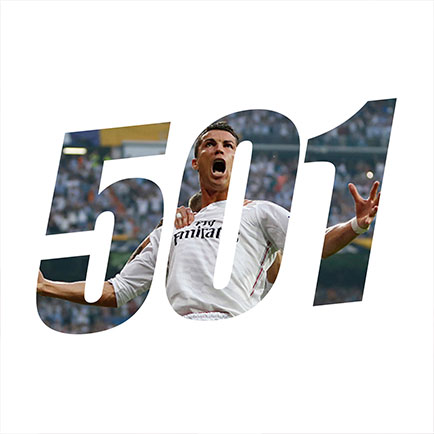Cristiano Ronaldo scorer karriremål 500 og 501