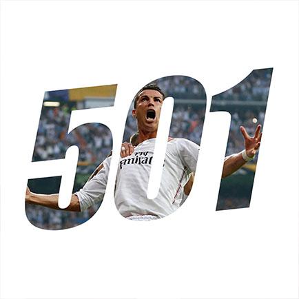 Cristiano Ronaldo schießt seine Tore Nummer 500...